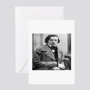 Frederick Chopin Greeting Card